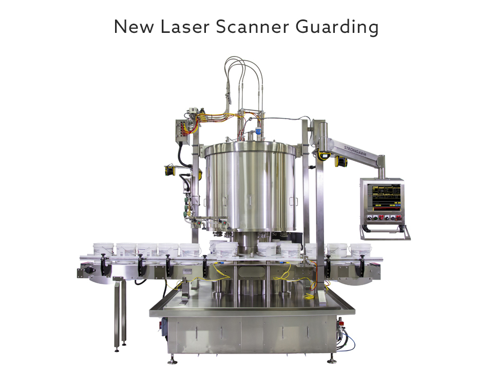 Weight Filler Paint Laser Scanner Guarding Federal
